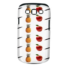 Ppap Pen Pineapple Apple Pen Samsung Galaxy S III Classic Hardshell Case (PC+Silicone)