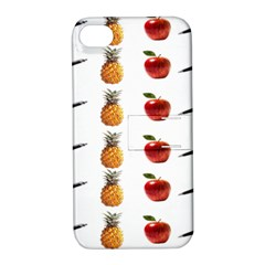 Ppap Pen Pineapple Apple Pen Apple iPhone 4/4S Hardshell Case with Stand
