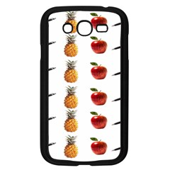 Ppap Pen Pineapple Apple Pen Samsung Galaxy Grand DUOS I9082 Case (Black)