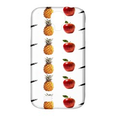 Ppap Pen Pineapple Apple Pen Samsung Galaxy S4 Classic Hardshell Case (PC+Silicone)