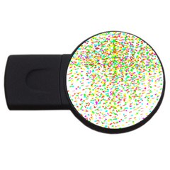 Confetti Celebration Party Colorful USB Flash Drive Round (2 GB)
