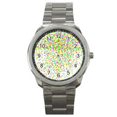 Confetti Celebration Party Colorful Sport Metal Watch
