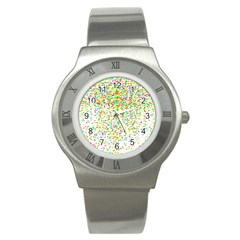 Confetti Celebration Party Colorful Stainless Steel Watch