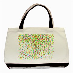 Confetti Celebration Party Colorful Basic Tote Bag