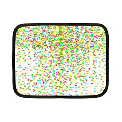 Confetti Celebration Party Colorful Netbook Case (Small)