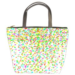 Confetti Celebration Party Colorful Bucket Bags