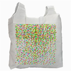 Confetti Celebration Party Colorful Recycle Bag (Two Side)