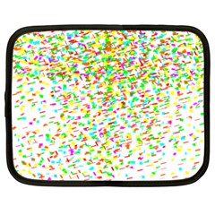 Confetti Celebration Party Colorful Netbook Case (XXL)