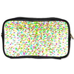 Confetti Celebration Party Colorful Toiletries Bags