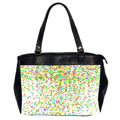 Confetti Celebration Party Colorful Office Handbags (2 Sides)