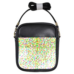 Confetti Celebration Party Colorful Girls Sling Bags