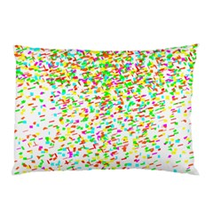 Confetti Celebration Party Colorful Pillow Case (Two Sides)