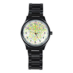 Confetti Celebration Party Colorful Stainless Steel Round Watch
