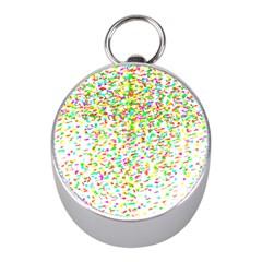 Confetti Celebration Party Colorful Mini Silver Compasses