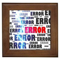 Error Crash Problem Failure Framed Tiles