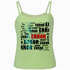 Error Crash Problem Failure Green Spaghetti Tank
