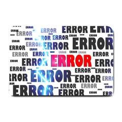 Error Crash Problem Failure Small Doormat