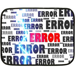 Error Crash Problem Failure Fleece Blanket (Mini)