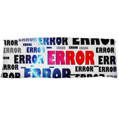 Error Crash Problem Failure Body Pillow Case (dakimakura)