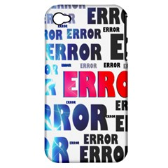 Error Crash Problem Failure Apple iPhone 4/4S Hardshell Case (PC+Silicone)
