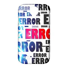 Error Crash Problem Failure Samsung Galaxy S4 Classic Hardshell Case (PC+Silicone)