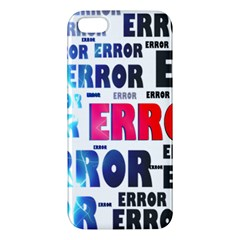 Error Crash Problem Failure iPhone 5S/ SE Premium Hardshell Case