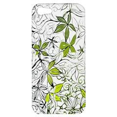 Floral Pattern Background Apple iPhone 5 Hardshell Case