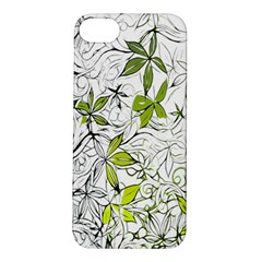 Floral Pattern Background Apple iPhone 5S/ SE Hardshell Case