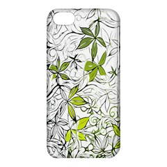 Floral Pattern Background Apple iPhone 5C Hardshell Case