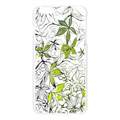 Floral Pattern Background Apple Seamless iPhone 6 Plus/6S Plus Case (Transparent)
