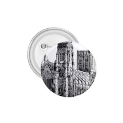 York Cathedral Vector Clipart 1.75  Buttons