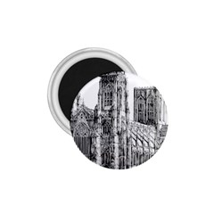 York Cathedral Vector Clipart 1.75  Magnets