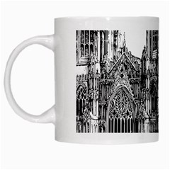 York Cathedral Vector Clipart White Mugs