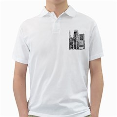 York Cathedral Vector Clipart Golf Shirts