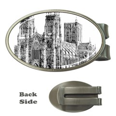 York Cathedral Vector Clipart Money Clips (Oval)