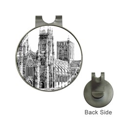 York Cathedral Vector Clipart Hat Clips with Golf Markers