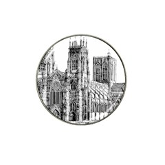 York Cathedral Vector Clipart Hat Clip Ball Marker (10 pack)