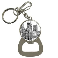 York Cathedral Vector Clipart Button Necklaces