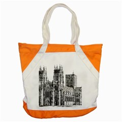 York Cathedral Vector Clipart Accent Tote Bag