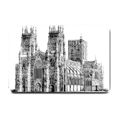 York Cathedral Vector Clipart Small Doormat