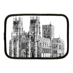 York Cathedral Vector Clipart Netbook Case (Medium)
