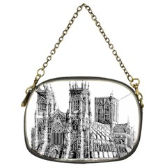 York Cathedral Vector Clipart Chain Purses (One Side)
