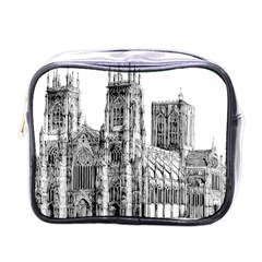 York Cathedral Vector Clipart Mini Toiletries Bags