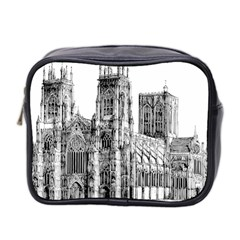 York Cathedral Vector Clipart Mini Toiletries Bag 2-Side