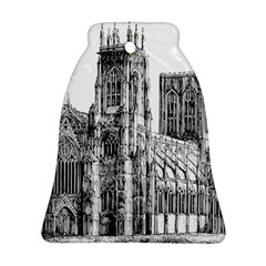 York Cathedral Vector Clipart Ornament (Bell)