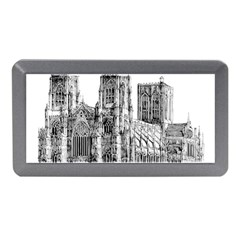 York Cathedral Vector Clipart Memory Card Reader (Mini)