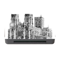 York Cathedral Vector Clipart Memory Card Reader with CF