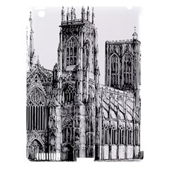 York Cathedral Vector Clipart Apple Ipad 3/4 Hardshell Case (compatible With Smart Cover)