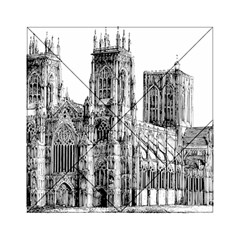 York Cathedral Vector Clipart Acrylic Tangram Puzzle (6  x 6 )