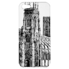 York Cathedral Vector Clipart Apple Iphone 5 Hardshell Case